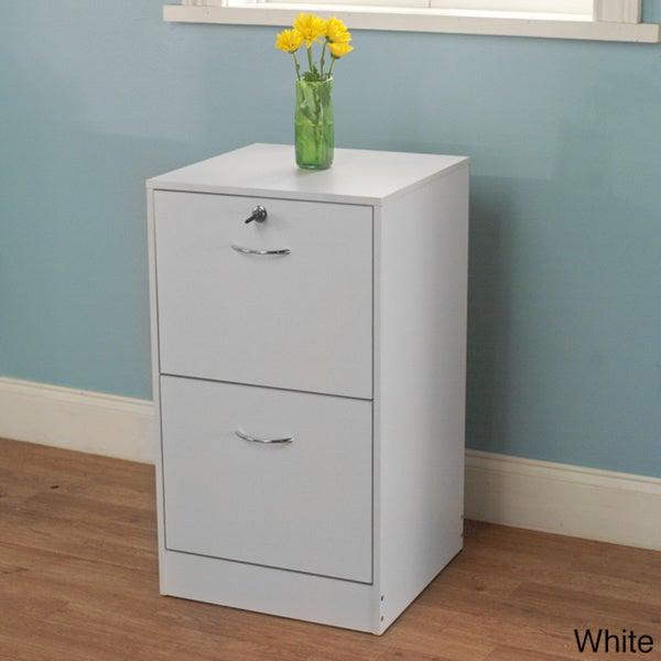 Shop Simple Living Wilson 2 Drawer Filing Cabinet Free