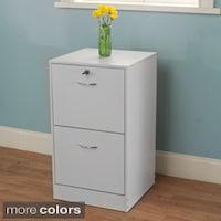 Simple Living Wilson 2 Drawer Filing Cabinet