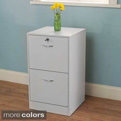 Simple Living Wilson 2 Drawer Filing Cabinet