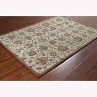 Mandara Hand-tufted Oriental Wool Rug (7' x 10')
