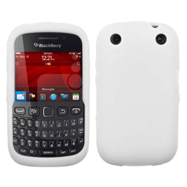 INSTEN Solid White Skin Phone Case Cover for Blackberry 9310 Curve
