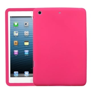 INSTEN Solid Hot Pink Skin Tablet Case Cover for Apple iPad Mini