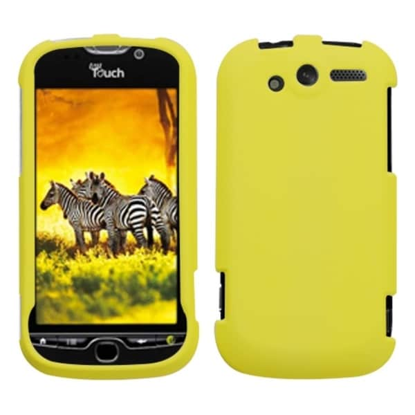 ... Rubberized Yellow Phone Protector Phone Case Cover for HTC Mytouch 4G