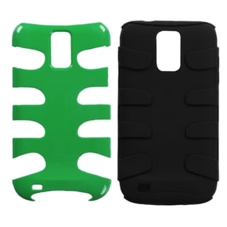INSTEN Green Natural Fishbone Phone Case Cover for Samsung T989 Galaxy S2