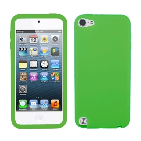 INSTEN Solid Dark Green Skin iPod Case Cover for Apple iPod touch