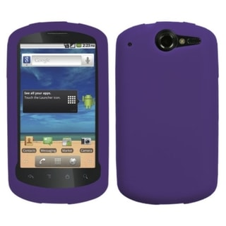 INSTEN Solid Dark Purple Skin Phone Case Cover for Huawei U8800 Impulse 4G
