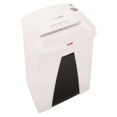 HSM Securio B24L6, 7-8 sheets, High Security Level 6, 9-gallon capacity, with Automatic Oiler