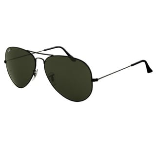 black ray ban aviators  Ray-Ban RB3026 Aviator Sunglasses - Free Shipping Today ...