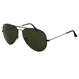 Ray-Ban RB3026 Aviator Sunglasses - Black