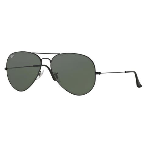 Ray-Ban RB3026 Aviator Sunglasses - Black