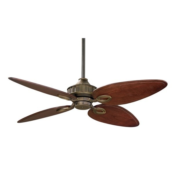 Fanimation Bayhill 56-inch Venitian Bronze Ceiling Fan - Free Shipping ...