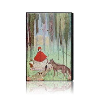 Oliver Gal 'Little Red Riding Hood' Canvas Art