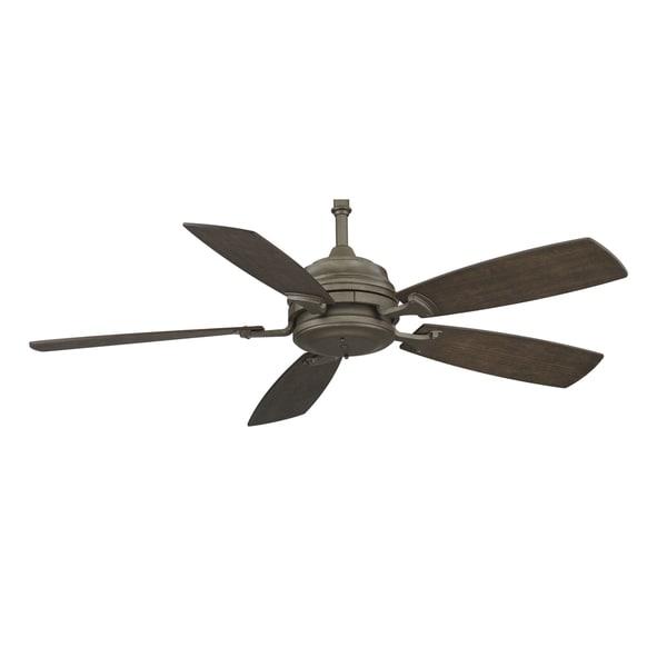 Fanimation Hubbardton Forge 54-inch Dark Smoke Ceiling Fan
