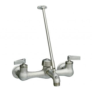 Kinlock Service Sink Faucet with Loose-Key Stops and Lever Handles