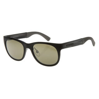 Serengeti Men's 'Milano' Metallic Black Sunglasses