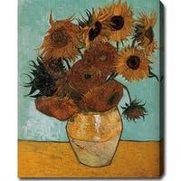 Vincent Van Gogh 'Sunflowers' Oil Canvas Art