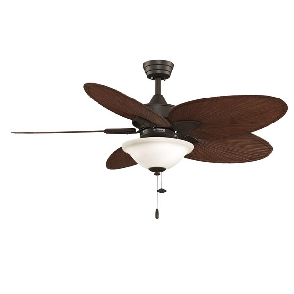 Fanimation Windpointe 52-inch Oil-rubbed Bronze 2-light Ceiling Fan
