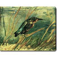 Vincent Van Gogh 'The Kingfisher' Oil Canvas Art - Multi