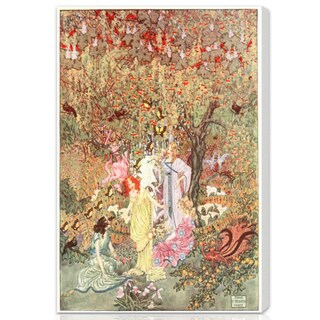 Oliver Gal 'Fairy Gathering' Canvas Art