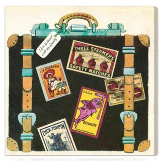 Oliver Gal 'I Love to Travel' Canvas Art