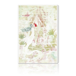 Oliver Gal 'Little Mermaid Original' Canvas Art