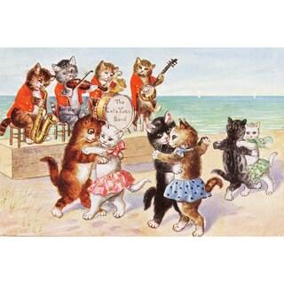 Oliver Gal 'The Catiyarn Band' Canvas Art