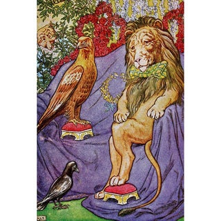 Oliver Gal 'The Wise King' Canvas Art