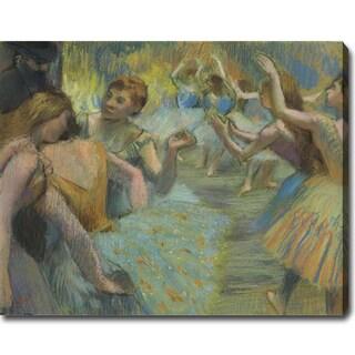 Edgar Degas 'The Ballet' Oil on Canvas Art