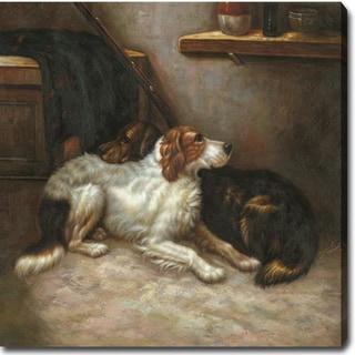 'The Dog' Oil on Canvas Art