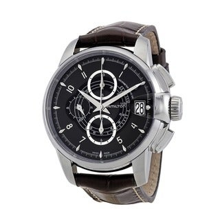 Hamilton Men's 'Railroad Auto Chrono' Chronograph Watch