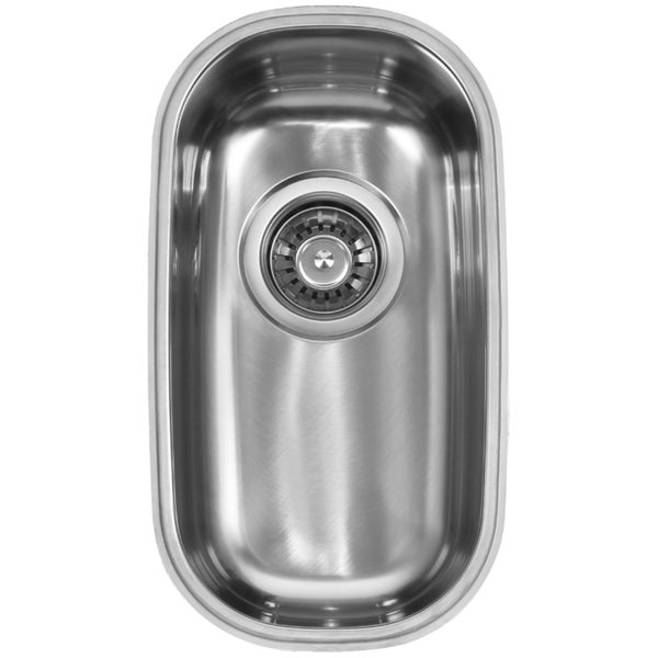 Shop Ukinox D210 Single Basin Stainless Steel Undermount Kitchen ...