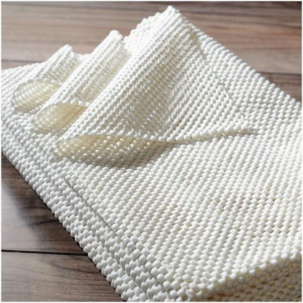 nuLOOM Plush Non-Slip Rug Pad (8' x 10') - White - 8' x 10'