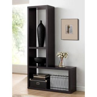 Baxton Studio Rupal Brown Modern Display Shelf
