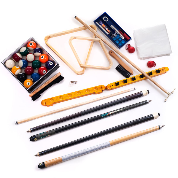 Trademark 20 Piece Complete Professional Billiard Gaming Pool Set. Opens flyout.