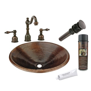 Premier Copper Products LO20RDB Widespread Faucet Package