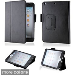 GEARONIC iPad Mini Magnetic PU Leather Folio Case Stand with Smart Cover