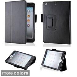 GEARONIC iPad Mini Magnetic PU Leather Folio Case Stand with Smart Cover (Option: Purple)