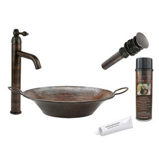 Copper Sink & Faucet Sets For Less   Overstock.com