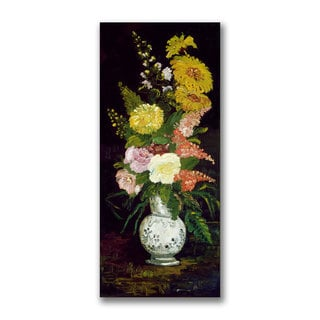 Paul Cezanne 'Vase of Flowers' Canvas Art