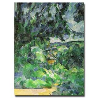 Paul Cezanne 'Blue Landscape 1903' Canvas Art