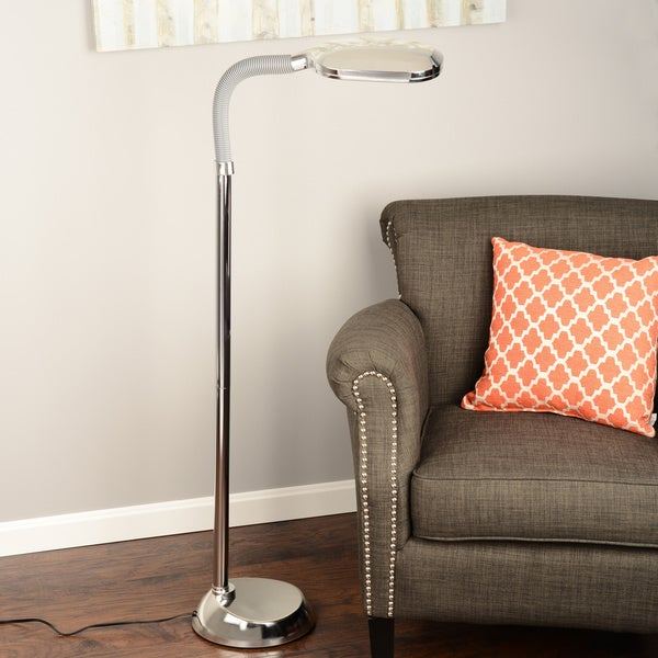 Natural Full Spectrum Sunlight Therapy Reading Floor Lamp by Windsor Home. Opens flyout.