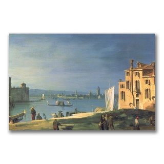Canaletto 'View of Venice' Canvas Art