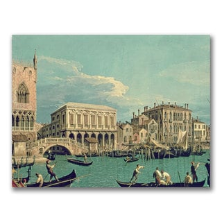 Canaletto 'Bridge of Sighs' Canvas Art