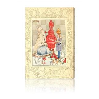 Oliver Gal 'Alice Queen of Wonderland' Canvas Art