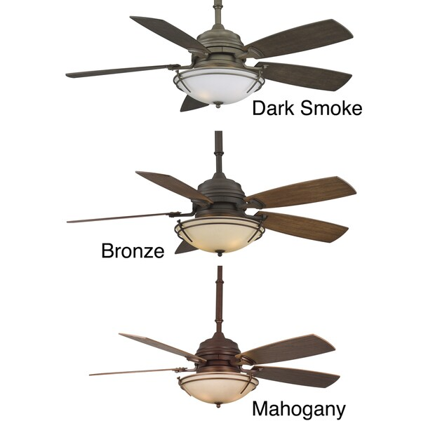 Fanimation Hubbardton Forge Presidio Tryne 54-inch 3-light Ceiling Fan
