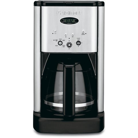 Cuisinart DCC-1200FR 12-cup Brew Central Black/ Stainless Steel Coffeemaker (Refurbished)