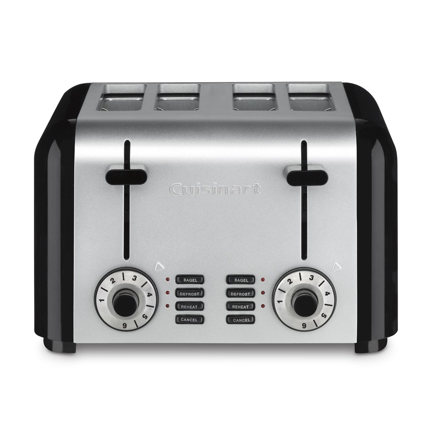 Cuisinart CPT-340 Brushed Stainless Steel 4-slice Toaster...