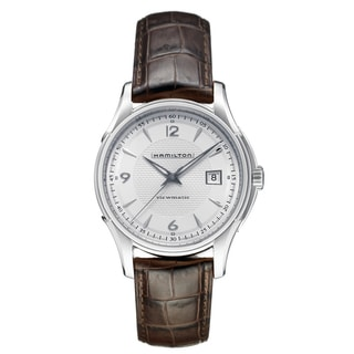 Hamilton Men's 'Jazzmaster Viewmatic' White Dial Watch