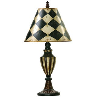 Dimond Lighting LED 1-light Urn Table Lamp in Black and Antique White Finish