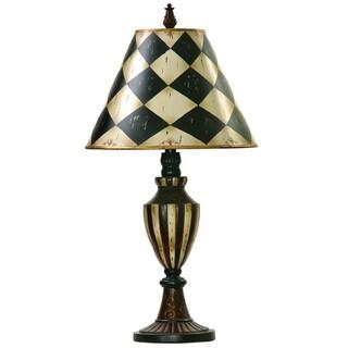 Dimond Lighting 1-light Black/ Antique White Table Lamp
